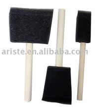 21334 Black sponge brushes