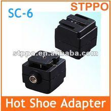 New SC-6 Flash Hot Shoe Adapter For Minolta /Sony Flash