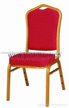 Aluminum/steel frame banquet chair