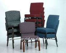 Comfortable Church Chair/Durable Metal Church Furniture/Stacking Metal Used Church Chair For Sale