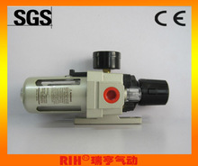 SMC type AW3000-02 pneumatic air filter regulator 1/4''