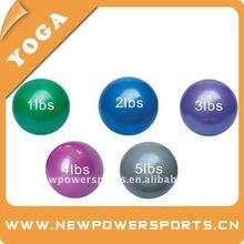 weighted ball,antiburst gym ball,gym ball w/sand