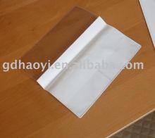 Clear waterproof plastic PVC passport holder/Travel passport wallet