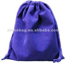 Customized Velvet Drawstring Bag For Gift