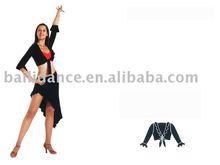 Filles et femmes sexy latine salle de bal de danse soutien - gorge de sport crop tops robe