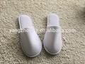 zapatillas de felpa blanca para hoteles