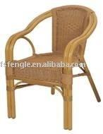 TW3009 Outdoor Aluminium Rattan Dining Chair