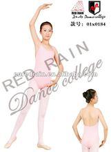 Venta al por mayor de las niñas camiseta doble de ballet de danza leotardo/niño trajes de ballet/niños ballet clothes01x0184