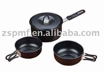non-stick cookware/Aluminum cooking pot set (XL931NS)