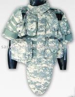 WS FZ-958 Kevlar Body Armor Bullet proof Vest (BV001)