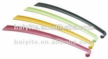 plastic long handled foldable shoe horns