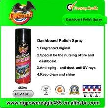 Car Spray Wax Lemon Aerosol 450ml