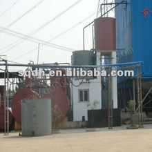 industrial waste oil recycling equipment used tire oil recycling equipment with CE/ISO