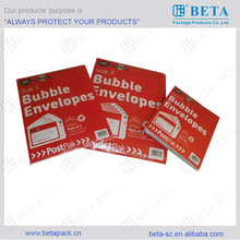 Retail pack bubble envelopes