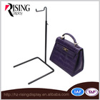 Best Selling China Manufactured SGS Approved Metal Bag Stand Display