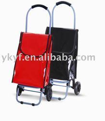 Foldable PVC shopping trolley bag