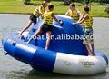 Inflable del agua girar la parte superior, ufo inflable del agua del juego, inflables parque acuático