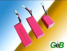 11.1V1600mAh 15C RC LIPO battery 553496SH15C 3s1p