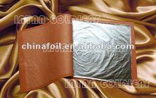 Silver imitation leaf/ Aluminum Leaf for gilding with furniture,wooden frame etc.