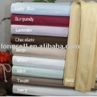 many different color 100% cooton good feeling bed sheet set