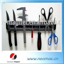 Plastic magnet knife holder