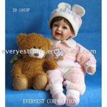 20 polegada do bebê boneca de porcelana