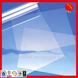 Clear PET rigid sheets