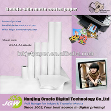 140g Double-side Matte Coated Paper