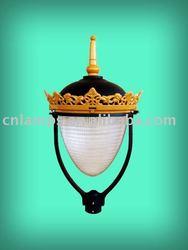 IP65 aluminium outdoor crown lamp (DS5481)