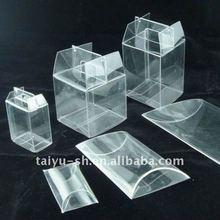 clear plastic carton