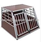 Aluminium cage for dog