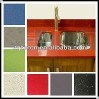 2013 HOT SALE modern agglomerate quartz stone kitchen countertop