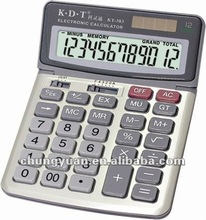 Big size electronic financial calculator description KT-383