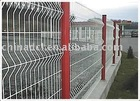 painting welded mesh fence