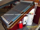 Pressure solar collector and solar water heating system (Solar Keymark,EN12975,CE,ISO,SGS,CCC,EN12976,BID,SRCC)