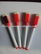 magnet whiteboard erasable marker pen with brush