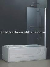 HTSS-87C09 Bathtub Glass Shower Enclosure Shower Door Bathroom Door