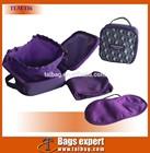 PVC travel bag,air bag,cosmetic bag with sock,eyemark
