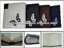 PU Leather book-bound photo book 4*6