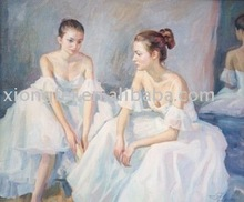 dancing Ballet oil painting