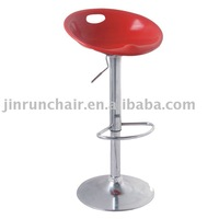 modern adjustable swivel plastic JR-6076 bar chair plastic bar stool