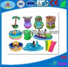 Inflable artículos de playa / playa inflable del juguete del / inflable barato juguetes de playa para 2013 / nuevo diseño 2013 beach juguete flotante