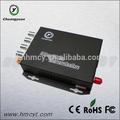 El convertidor video óptico del transmisor y del receptor de la fibra transmite señales del vídeo, del audio, de los datos, de Ethernet, del interruptor y de teléfono