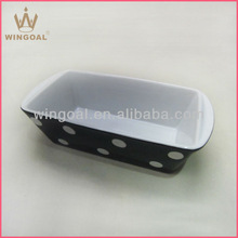 Colored microwave oven bakeware