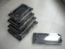 solid black Antifog sushi tray