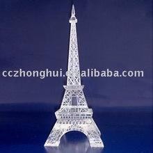 Fashion design crystal building model
