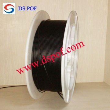 plastic fiber optic cable for data transmission