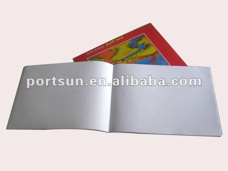 Cartoon sketch book for children