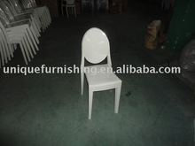 Acrylic stacking victoria ghost chair/dinner chair