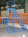 muebles de acero escalera